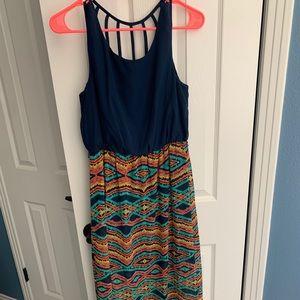 Cute multi color dress